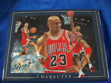 """Michael Jordan definition of a champion """"Character"""" 2000 UDA Limited Edition"""
