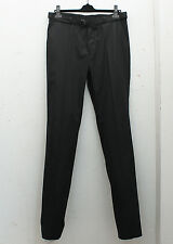 NEW Lanvin Black Cotton Trousers with Belt GENUINE RRP: £280 - Size: 48