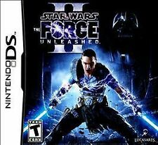 STAR WARS: THE FORCE UNLEASHED 2 II brand new video game for Nintendo DS