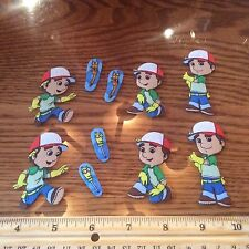 Disney Handy Manny Fabric Iron On Appliques