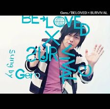 GERO-BROTHERS CONFLICT (ANIME) INTRO THEME: BELOVED X SURVIVAL-JAPAN CD B63