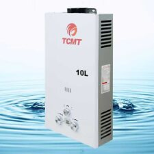 10L LPG Gas Water Heater 2.6 GPM Tankless House Instant Boiler Digital Display