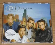 A1 No More b/w Livin' La Vida Loca UK 3 TRACK CD SINGLE (CD 2) + POSTER MINT!!