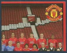 PANINI MANCHESTER UNITED 2008/09 #003-TEAM PHOTO-TOP RIGHT