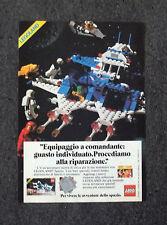F295-Advertising Pubblicità- 1975 - LEGO ASTRONAVE LEGOLAND