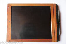 "4x5"" Glass Plate Film Holder - Wood - 120x153x13 - Side Latch Spring - USED W89"