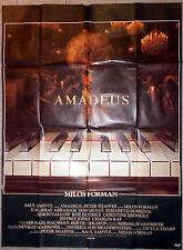Affiche AMADEUS Tom Hulce MILOS FORMAN F. Murray Abraham MOZART Piano 120x160cm