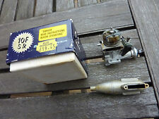 O.S. 10 FSR Model Aircraft Glow Plug Engine With Box & Silence In Nice Condition