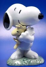 SNOOPY WITH WOODSTOCK PEANUTS CHARLIE BROWN DOG 2016 FIGURINE NAO BY LLADRO #531