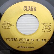 GLENN MINTON 45 Lonely lonely Picture picture on the wall 70's (?) country jr54