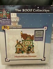 "2005- ""Hamilton House"" Lemax Carole Town Collection Lighted House w/Box"