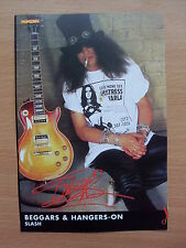 SLASH - Beggars & Hangers-On - Lyric Card + Autograph
