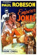 EMPEROR JONES Movie POSTER 27x40 Paul Robeson Dudley Digges Frank Wilson Fredi