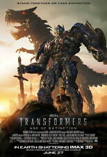 """046 Transformers 4 Age of Extinction - 2014 Hot Movie Film 24""""x35"""" Poster"""