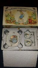 "Vintage Peter Rabbit ""Beatrix Potter"" Children's Tea Set by Wedgwood"