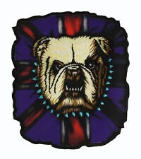 PATCH HEAT PUNK BULLDOG UK GREAT BRITAIN