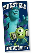 Official Disney Monsters University Beach Bath Cotton Towel Monsters Inc Gift