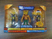 DC INFINITE Heroes Hawkman Thanagarian Warrior 3 pack Crisis NEW Free Ship US