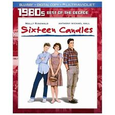 Sixteen Candles (Blu-ray + Digital Copy + UltraViolet) by Molly Ringwald, Antho