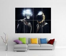 DAFT PUNK GET LUCKY RANDOM ACCESS MEMORIES GIANT WALL ART PHOTO POSTER J181