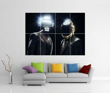 Daft Punk Get Lucky Random Access Memories Gigante Pared Arte Foto Cartel j181