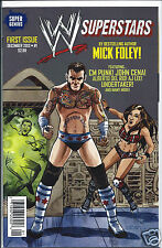 WWE Superstars #1 1st Print Cover D Variant CM PUNK NM- Writer Mick Foley!