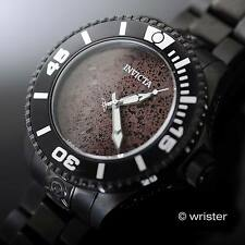 Rare LE Invicta Grand Diver Gen II Automatic Black Red Lava Rock Dial Mens Watch