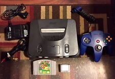 NINTENDO 64 SYSTEM COMPLETE SUPER MARIO 64 MEMORY CARD TESTED