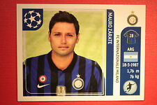 PANINI CHAMPIONS LEAGUE 2011/12 N 87 ZARATE INTER WITH BLACK BACK MINT!!