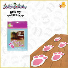 Easter Egg Decorations Hunt 15 Pk Bunny Footprints Kids Toy Indoor/Outdoor Quest