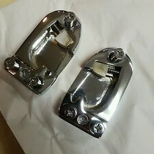 1955-1962 CHEVY IMPALA SS BEL AIR TRIPLE CHROME DOOR STRIKERS convertible 409