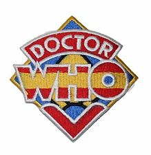 """Dr. who 3.5"""" Logo Sew Ironed On Badge Embroidery Applique Patch"""