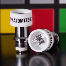 5 x Phato Dual Quartz Coil Ceramic Atomizers for Glass Globes