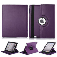 Defense 360 Rotating Leather Flip Smart Stand Case For Apple iPad Mini 1 2 & 3