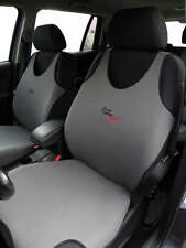 2 GREY FRONT VEST T-SHIRT CAR SEAT COVERs PROTECTOR FOR TOYOTA IQ