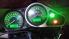 GREEN KAWASAKI zx9r c1 c2 led dash clock conversion kit lightenUPgrade