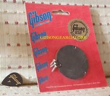 Gibson Les Paul 80s Rear Cavity Switch Plate Black Custom Cover Guitar Parts R9