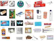 FIRST AID KIT BOX with 32 Items, For Home, Office Traveling Vehicle Quantity 101