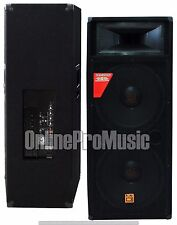 Mr. Dj PAS3000AMP Professional Dual 15-Inch Speaker 3000 Watts Max Peak Power
