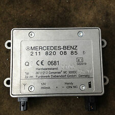 MERCEDES E320 02-09 W211 GENUINE BLUETOOTH TELEPHONE CONTROL MODULE 211820088 #1