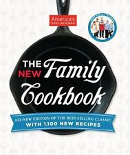 The America's Test Kitchen New Family Cookbook by America's Test Kitchen (HC)