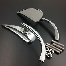 Harl street sports cruiser CHROME Motorcycle Claw style rearview mini mirror