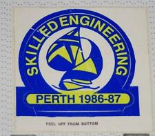 Retro Sticker - Skilled Engineering Perth 1986-87  Sailing