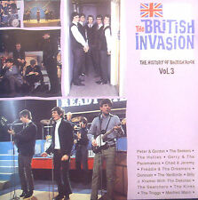 CD THE BRITISH INVASION - the history of british rock vol 3