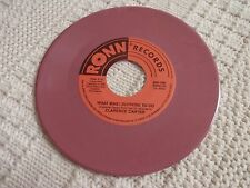 CLARENCE CARTER  WHAT WAS I SUPPOSE TO DO/I'M SO TIRED OF EXPLAINING RONN M-