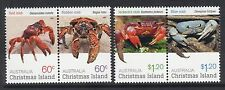 Christmas Island Sc #495-96 Mint VF NH Crabs Pairs