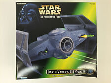 1996 Star Wars Power of the Force Darth Vader's TIE Fighter Brand New Sealed Box