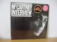 "PAUL McCARTNEY ""The McCartney Interview"" Original SEALED LP 1980 The Beatles"