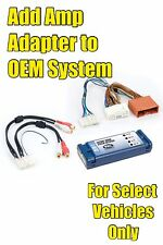 2004/2005/2006/2007/2008/2009 Mazda 6 Add An Amp Amplifier Adapter Interface