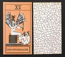 Vintage Tarot of the Initiate Eingeweihten Joachim Winckelmann Cards Deck 1954
